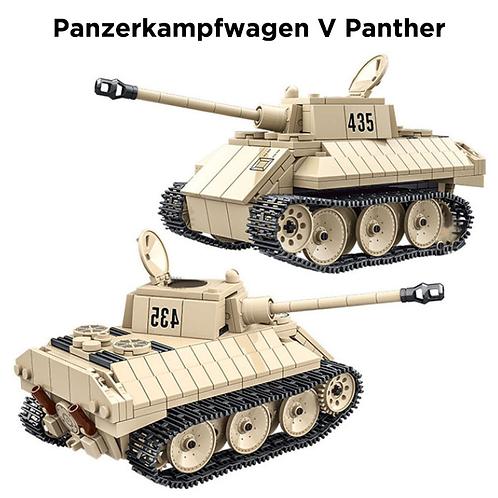 Конструктор танк PzKpfw V Пантера