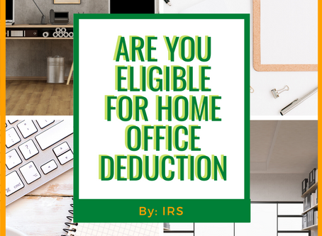 Are You Eligible For Home Office Deduction?