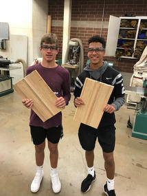 Cutting Board Students Completed Planing