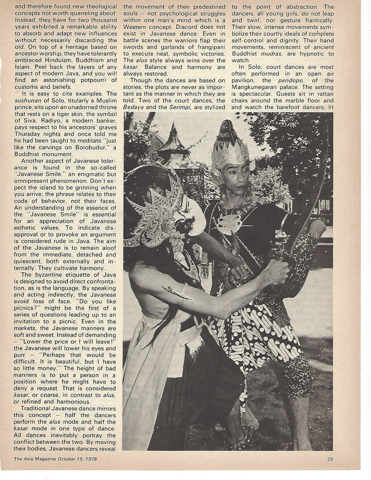 Asia Mag - Indonesia within the Palace W