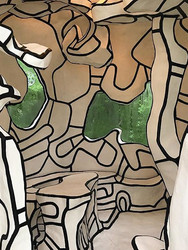 "Dubuffet's ""play"" house in a garden in E"