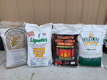 4 brands of wood pellets Turman EasyBlaz