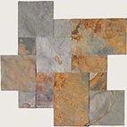 French pttern California Gold tile