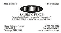 Salerno Fence