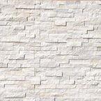 Arctic White Ledger Panels