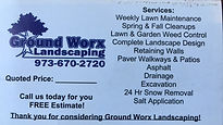 Ground Worx Landscaping