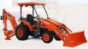Kubota L45 Tractor Backhoe
