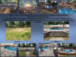 backyard makeover, Techo Bloc Mini Creta, Blu60, Champlain Grey, Natural Bluestone, landscaping