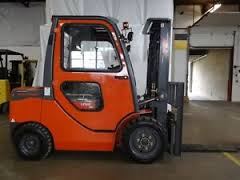6,000 Pound Pneumatic Forklift