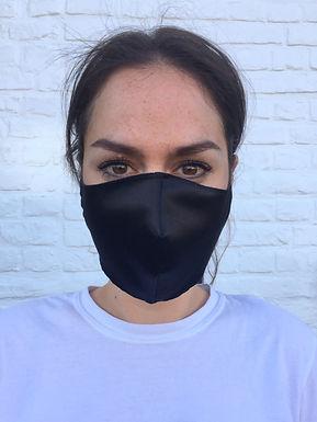Zwart mondmasker