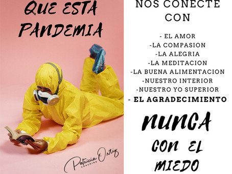 NUNCA CONECTES CON EL MIEDO