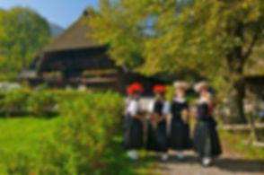 Vogtsbauernhöfe in Gutach