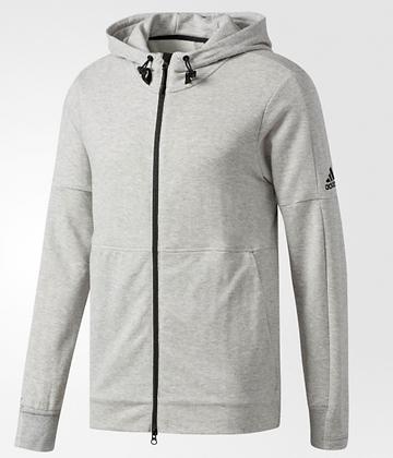 Áo Khoác Nam Adidas Men's French Terry Full Zip Jacket Grey 100% chính hãng