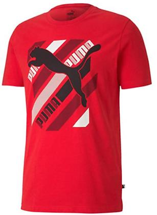 Áo Thun Nam Puma Cat Brand Men's Graphic Tee RED 100% chính hãng