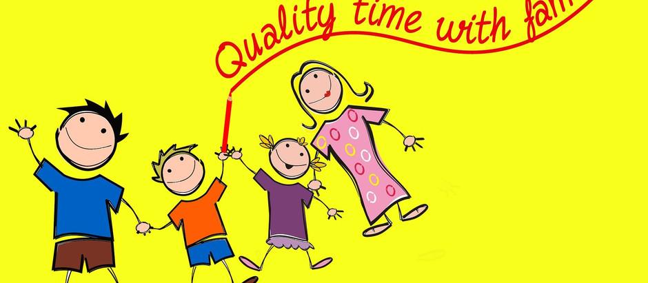 Fehlt Dir die Qualitätszeit mit der Familie?