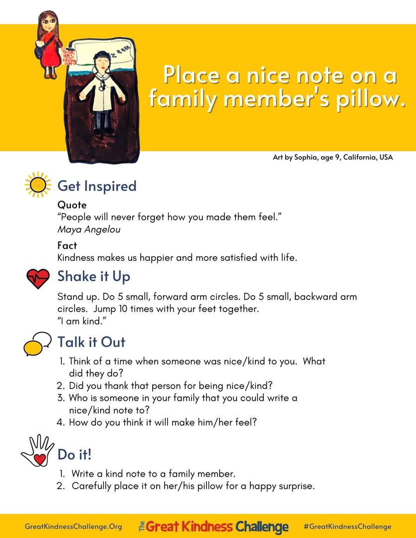 Kindness Mini-Lesson Example