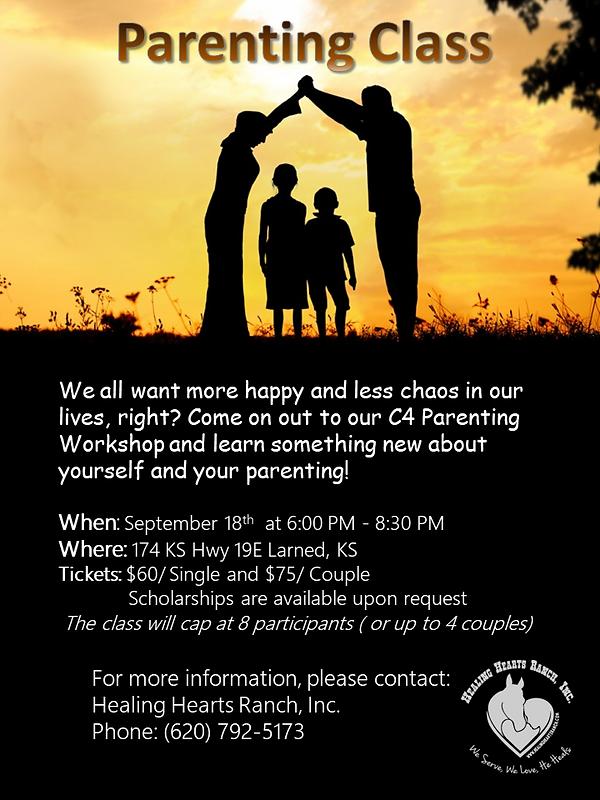 Parenting Class Poster