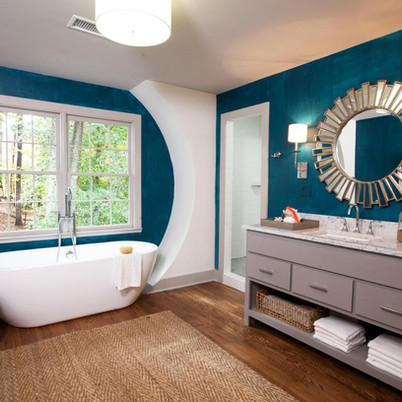 Trendy Colors for Bathroom - Interior Design Ideas