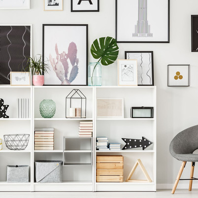 Ideas for Decorating your home with Shelves