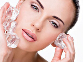 Benefits of Ice on the skin and How to use it