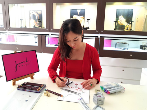 Behind the Scenes - Running a  Jewellery Business