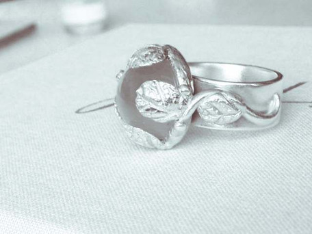 Customised Moonstone Ring
