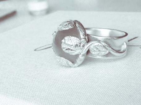 Customised Moonstone Ring