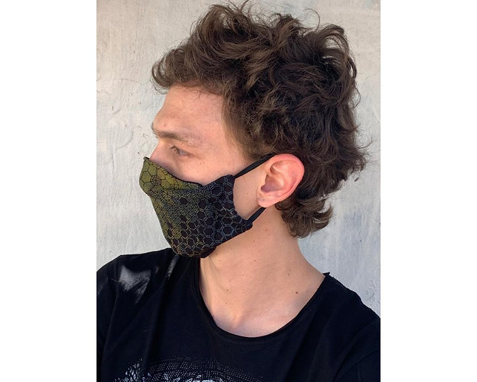 FACE MASK ROKEI BLACK MIX