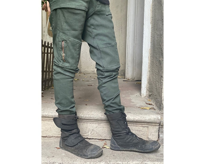 ALLUSION OLIVE PANTS