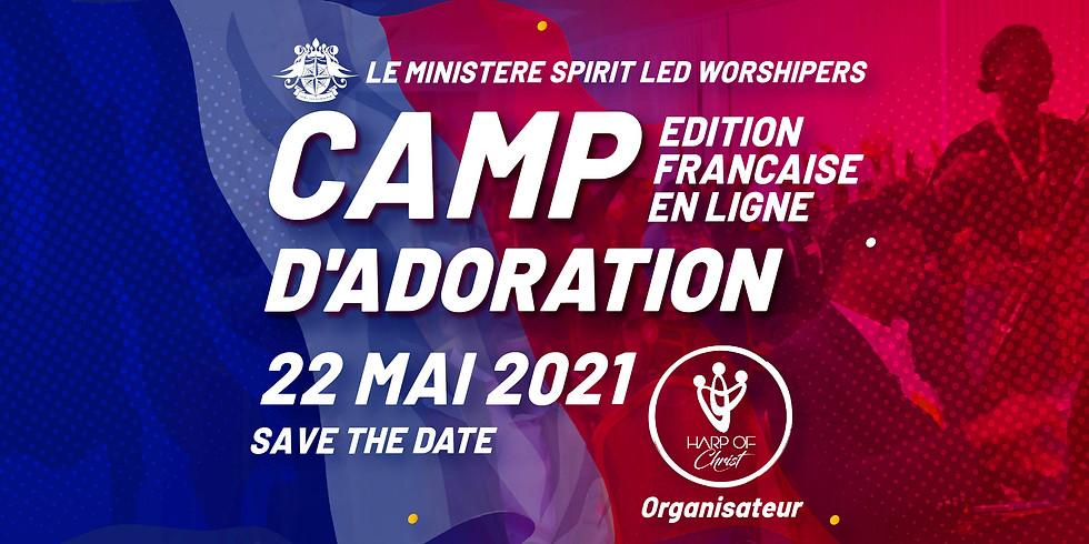 CAMP D'ADORATION EN LIGNE