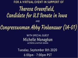 Support Iowa US Senate & House Dems