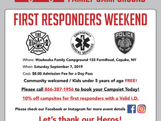 First Responders Weekend