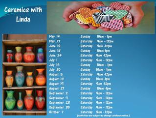 Ceramics with Linda 2017!