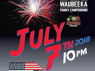 Join Us For Our 4th Of July Fireworks Spectacular!