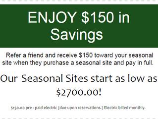 Enjoy $150 Savings