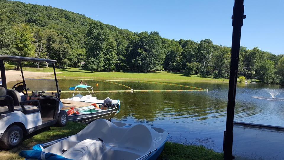 Waubeeka Family Campground Lake