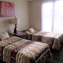 Lodge single bedroom