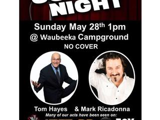 Comedy Show Coming to Waubeeka