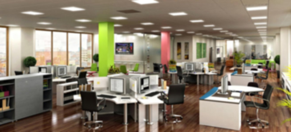 Commercial office space electrical