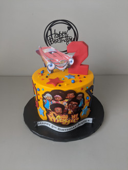Motown Magic Birthday Cake