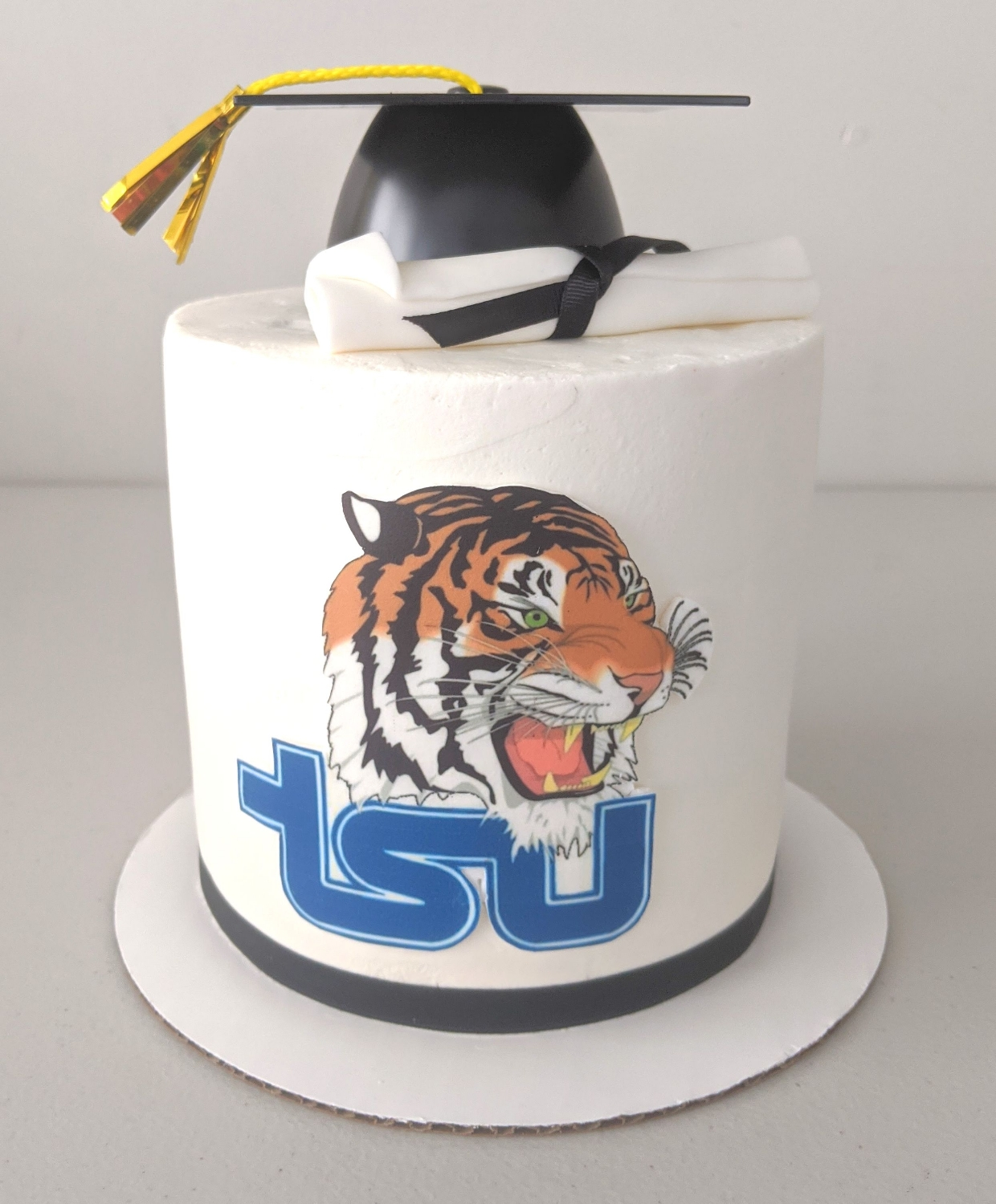 TSU Tigers Graduation Cake