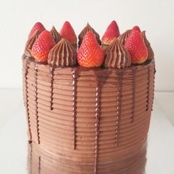 Chocolate and Fresh Strawberries