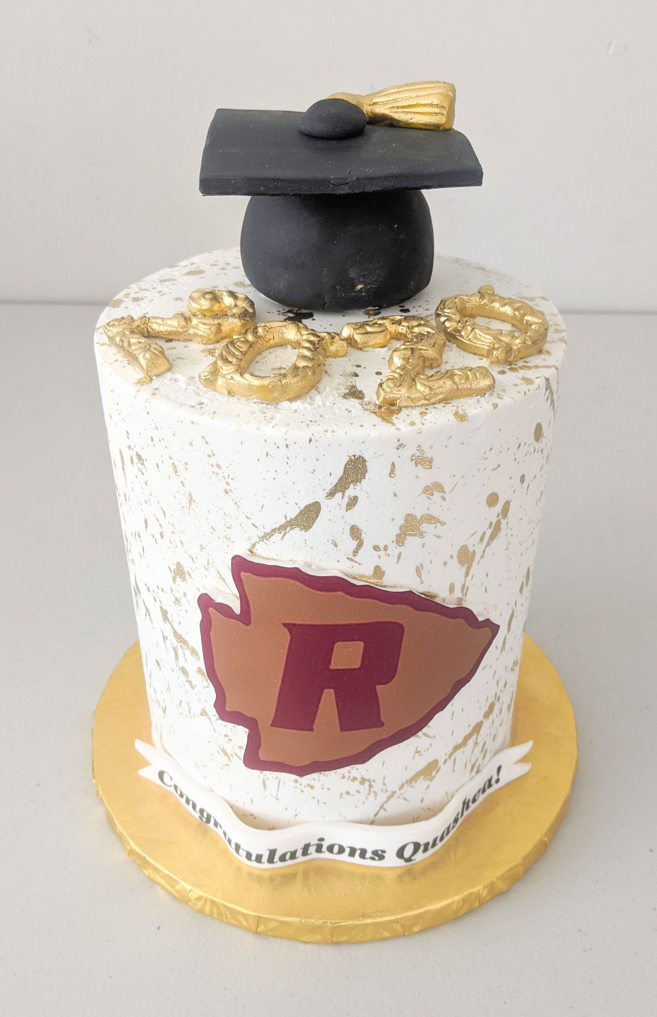Riverdale High School Graduation Cake