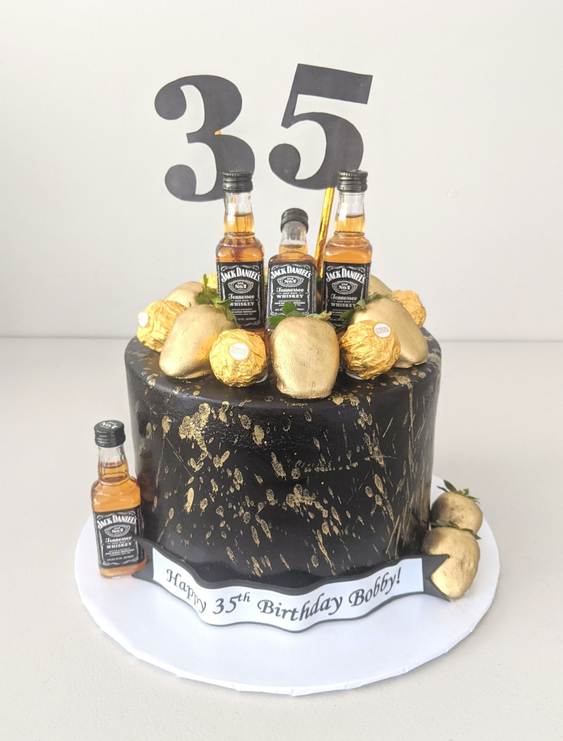Jack Daniel's Men's Cake