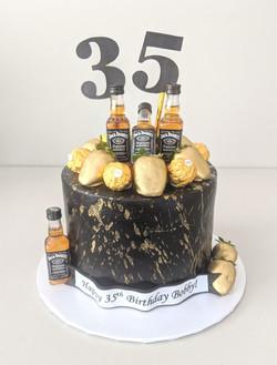 Jack Daniel's Men's Cake