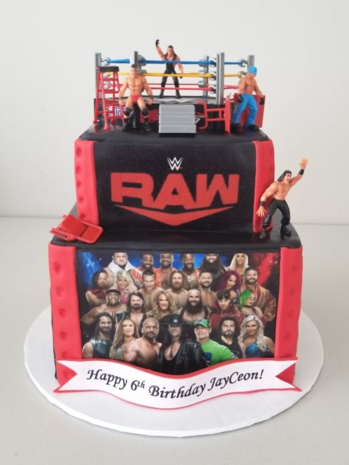 WWE / RAW Cake