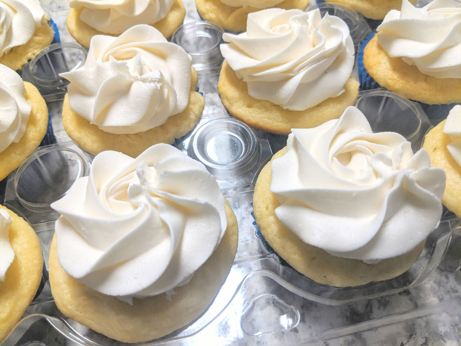 Traditional French Vanilla Cupcakes