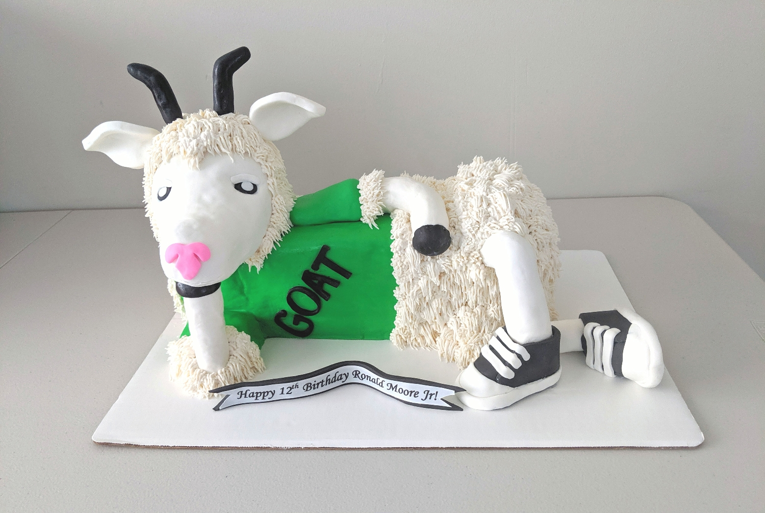 G.O.A.T Cake