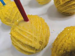 Sugar Sprinkled Cake Pops