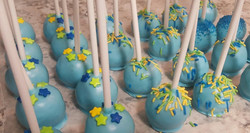 It's A Boy Theme Cake Pops